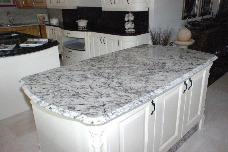 Ice Blue granite table top